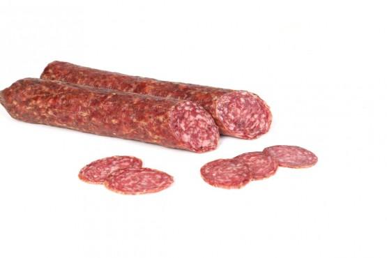Salami mit Hirsch