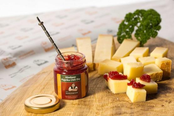 Himbeer-Paprika-Chili-Dip