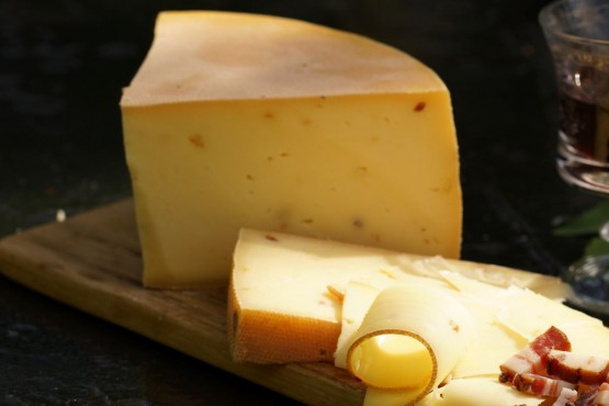 Speck-Zwiebel Käse